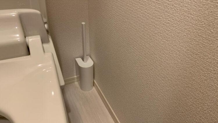 掃除用のトイレブラシ
